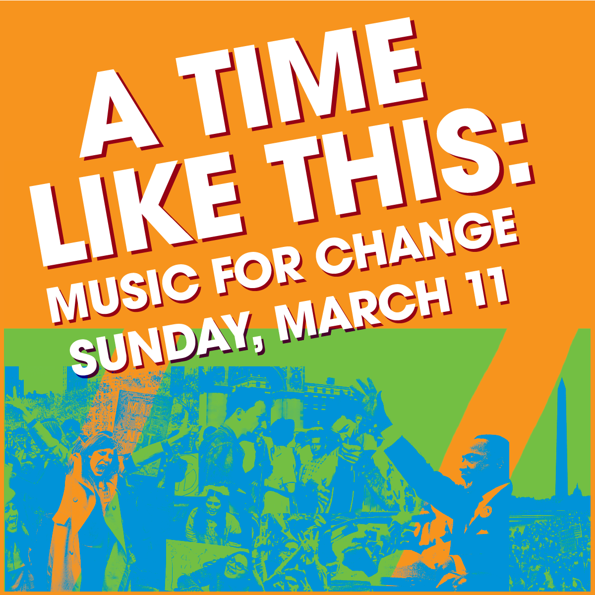 Carnegie Hall - A Time Like This: Music For Change